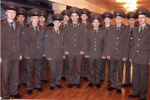 Солдаты в/ч 43008