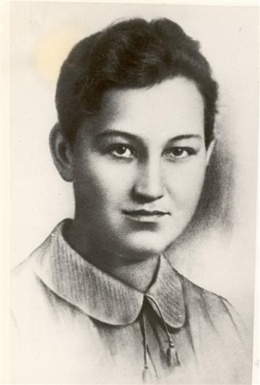 Зоя Космодемьянская. Портрет