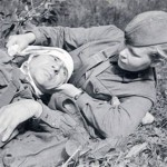 Девушки-санинструкторы на войне